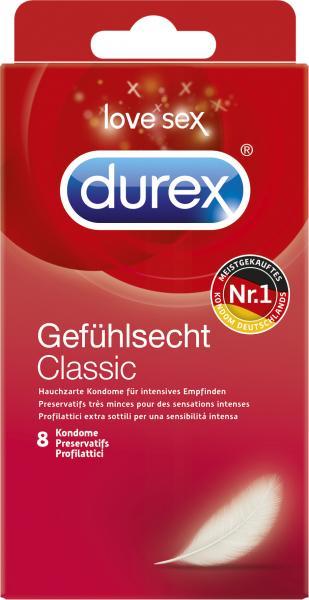 Durex Kondome Gefühlsecht