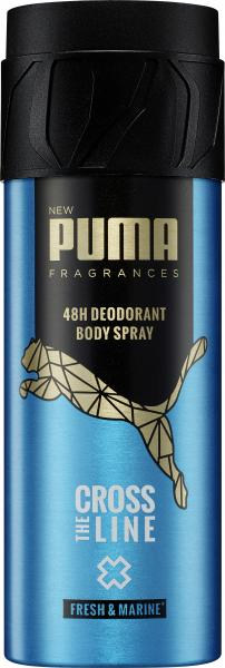 Puma Men Cross The Line Body Spray fresh & marine