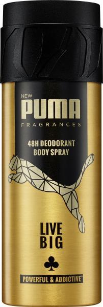 Puma Men Live Big Body Spray