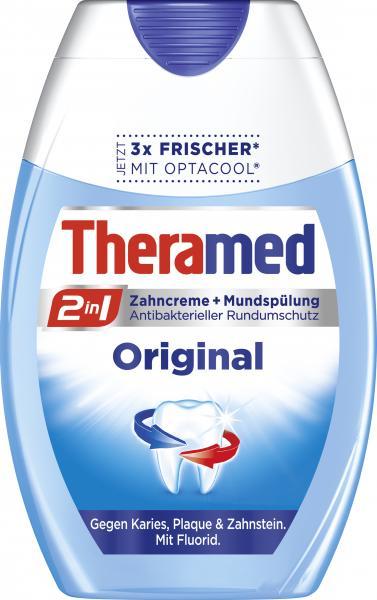 Theramed Zahncreme und Spülung 2in1 Original