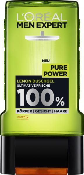 L'Oréal Men Expert Pure Power Lemon Duschgel