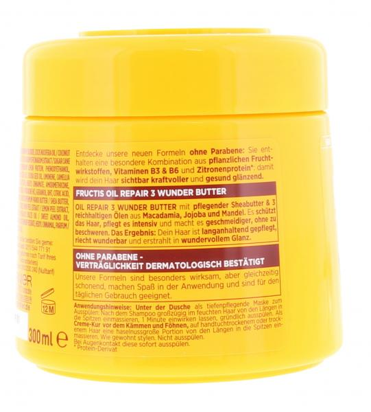 Garnier Fructis Oil Repair 3 Wunder Butter 3 in 1 Maske