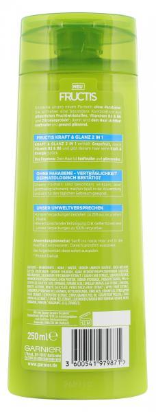 Garnier Fructis Kraft & Glanz kräftigendes Shampoo 2in1