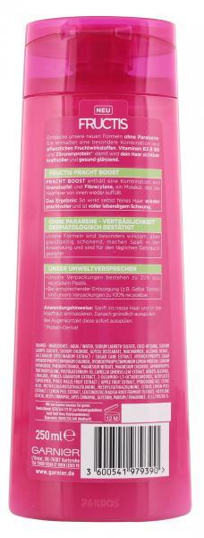 Garnier Fructis Pracht Boost kräftigendes Shampoo
