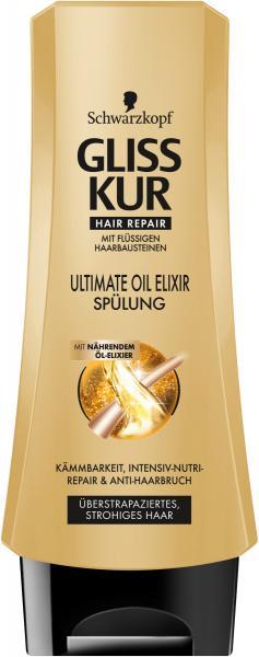 Schwarzkopf Gliss Kur Spülung Ultimate Oil Elixir