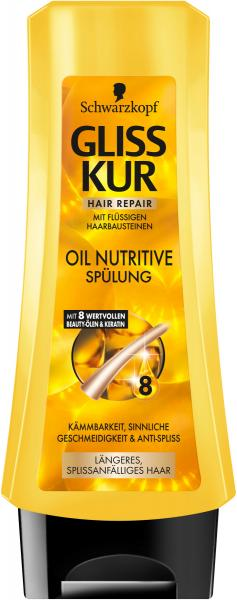 Schwarzkopf Gliss Kur Ultimate Oil Nutritive Spülung
