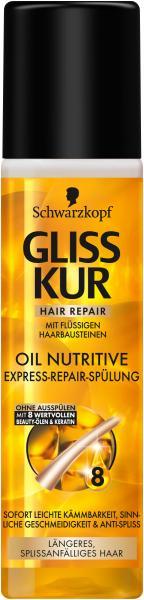 Schwarzkopf Gliss Kur Express-Repair Spülung Oil Nutritive