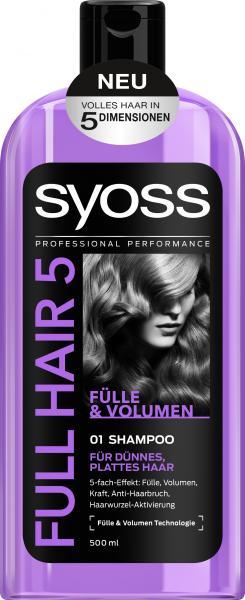 Syoss Full Hair 5 Fülle & Volumen Shampoo