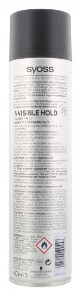 Syoss Invisible Hold Haarspray extra stark