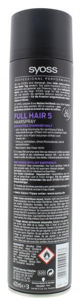 Syoss Full Hair 5 Haarspray extra stark