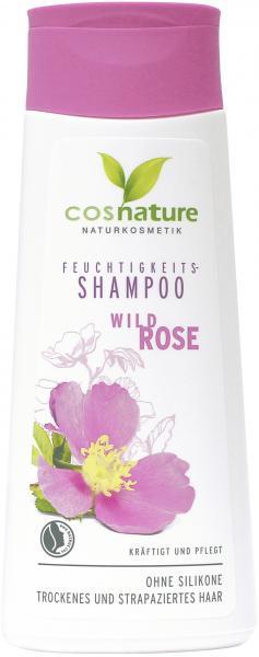 Cosnature Feuchtigkeits-Shampoo Wildrose