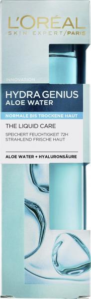 L'Oréal Skin Expert Hydra Genius Aloe Water + Hyaluronsäure