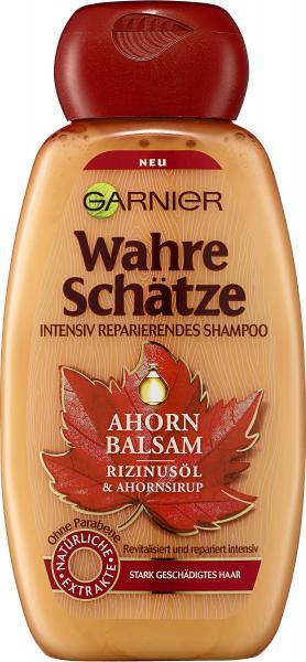 Garnier Wahre Schätze Shampoo Ahorn Balsam