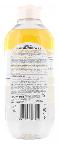 Garnier Mizellen Reinigungswasser all-in-1