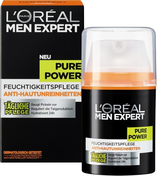 L'Oréal Men Expert Pure Power Feuchtigkeitspflege