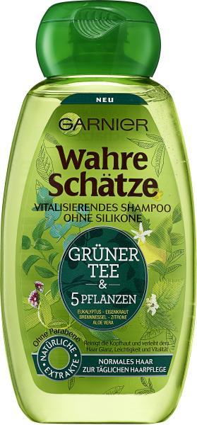 Garnier Wahre Schätze Vitalisierendes Shampoo Grüner Tee