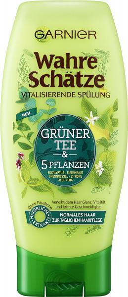 Garnier Wahre Schätze Spülung Grüner Tee & 5 Pflanzen