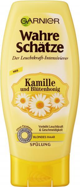 Garnier Wahre Schätze Spülung Kamille und Blütenhonig