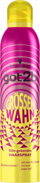 Schwarzkopf Got2b Haarspray Grössenwahn