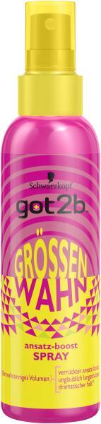 Schwarzkopf Got2b Grössenwahn Ansatz Boost Spray