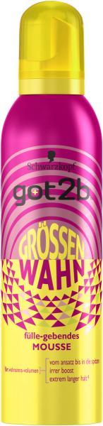 Schwarzkopf Got2b Schaumfestiger Grössenwahn
