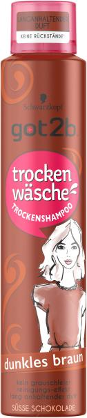 Schwarzkopf Got2b Trockenshampoo dunkles braun