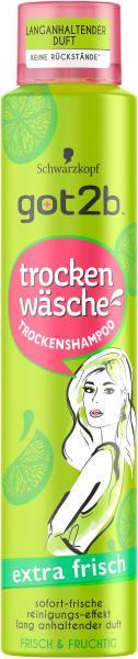 Schwarzkopf Got2b Trockenshampoo extra frisch