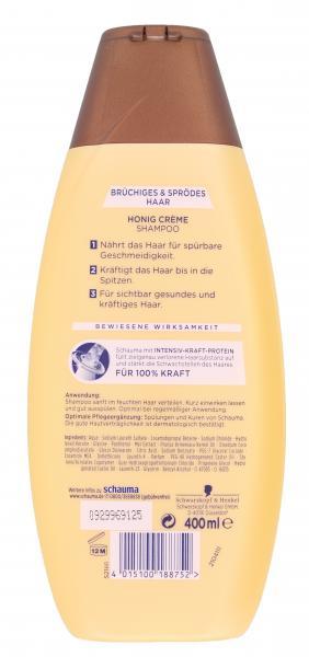 Schwarzkopf Schauma Shampoo Honig-Crème Aufbau-Shampoo