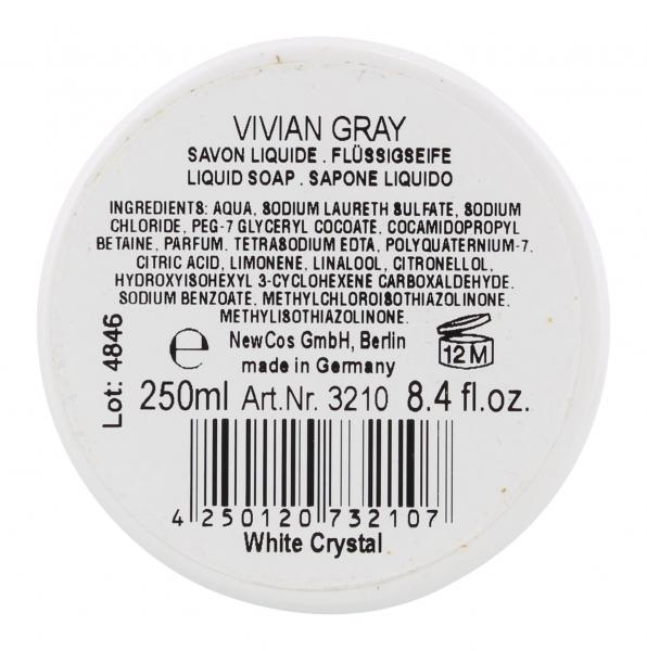 Vivian Gray Flüssigseife Crystal white