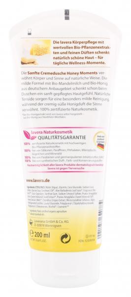 Lavera Sanfte Cremeduschel Bio Mandelmilch & Bio-Honig