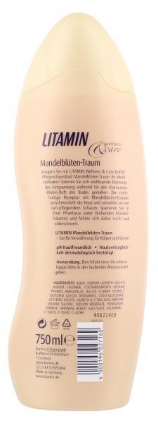 Litamin Wellness & Care Dusche Mandelblüten Traum