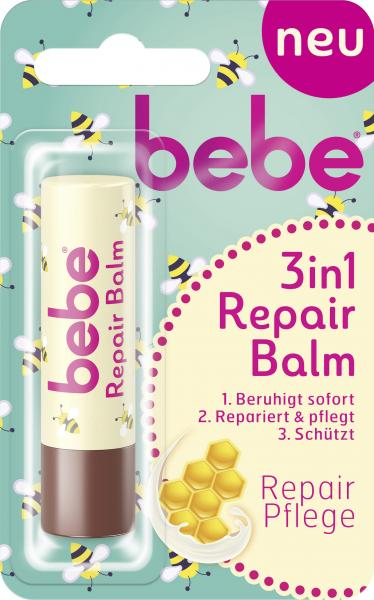 Bebe 3in1 Repair Balm Lippenpflege