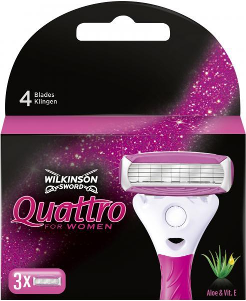 Wilkinson Sword Quattro for Women Klingen