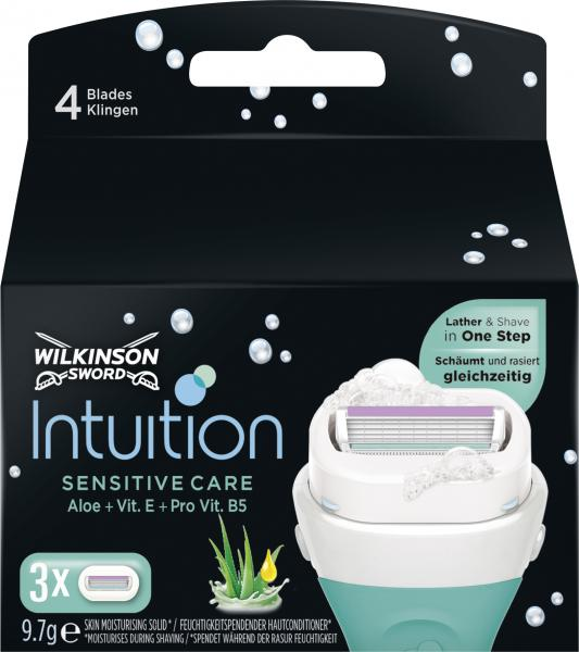 Wilkinson Sword Intuition sensitive Care Klingen