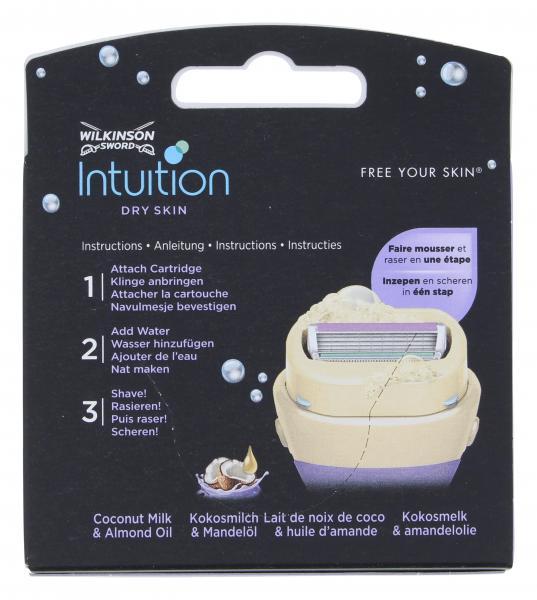 Wilkinson Sword Intuition Dry Skin Klingen