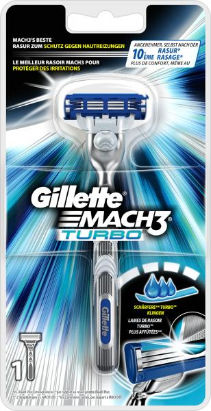 Gillette Mach3 Turbo Rasierer