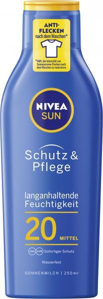 Nivea Sun Schutz und Pflege Sonnenmilch LSF 20