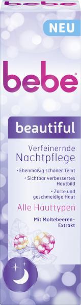 Bebe Beautiful verfeinerte Nachtpflege