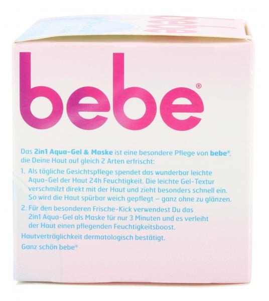 Bebe 2in1 Aqua-Gel & Maske