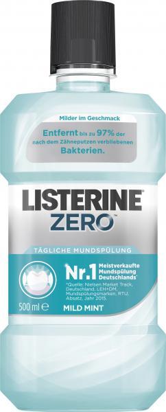 Listerine Mundspülung Zero