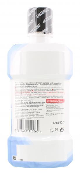 Listerine Mundspülung Advanced White