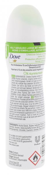 Dove Go Fresh Deo Spray Grüner Tee- und Gurkenduft