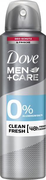 Dove Men+Care Clean Fresh Deo Spray