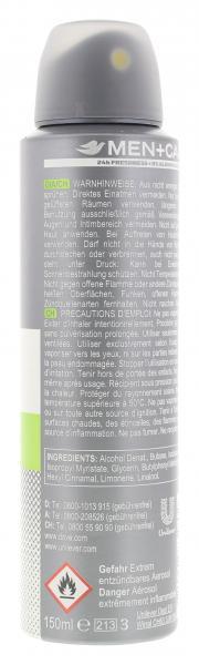 Dove Men+Care Deo Spray Extra fresh