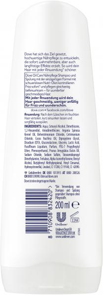 Dove Oil Care Nährpflege Spülung