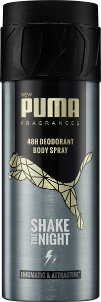 Puma Men Shake The Night Body Spray