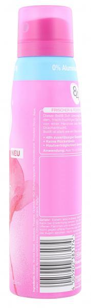 8x4 Pink Fresh Deo Spray Seerose-Drachenfrucht-Pinker Apfel