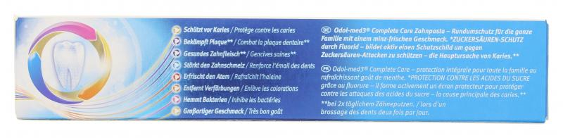 Odol-med3 Zahncreme Complete Care Original