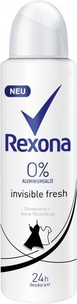 Rexona Invisible Fresh Black & White Deo Spray