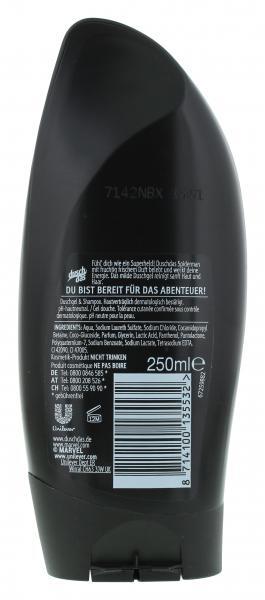 Duschdas 2in1 Duschgel & Shampoo Spiderman
